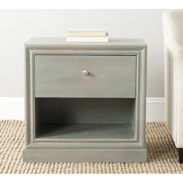 Falkville End Table With Storage by Highland Dunes