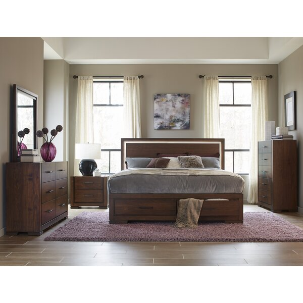 Kimbrough Storage Queen Platform Configurable Bedroom Set by Wrought Studio