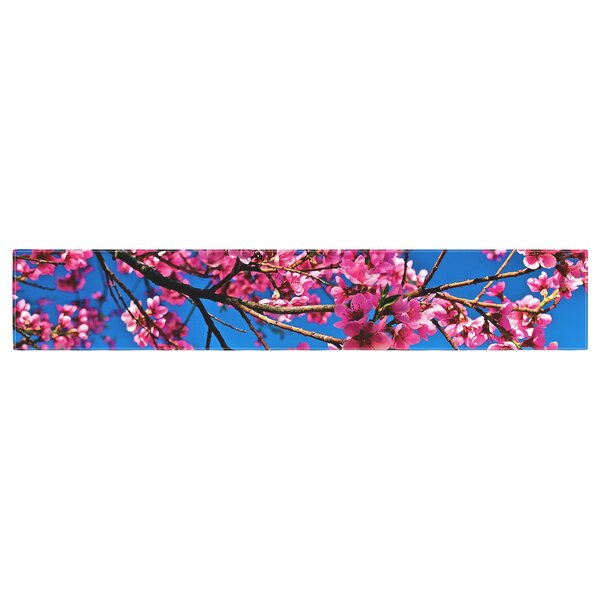 Maynard Logan Flowers Table Runner by East Urban Home
