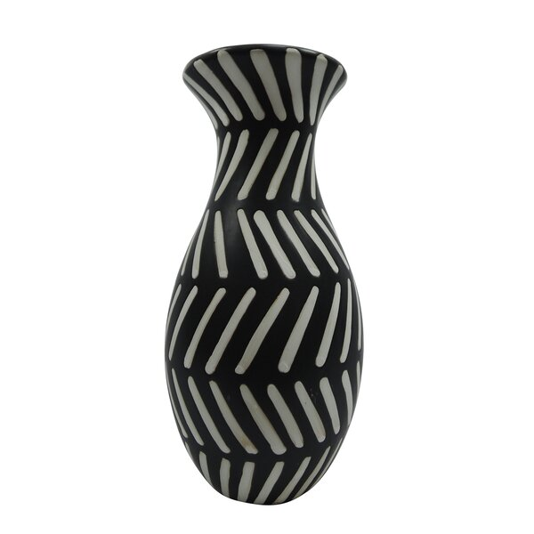 Burt Ceramic Tribal Table Vase by Union Rustic