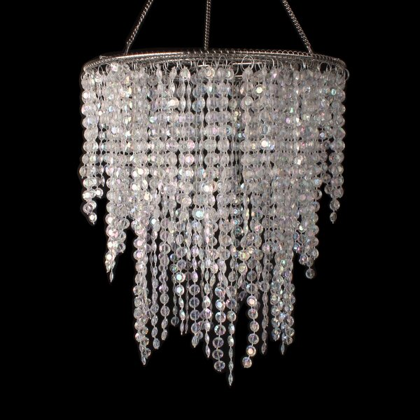 Bingen Statement Tiered Chandelier with Crystal Accents by House of Hampton House of Hampton