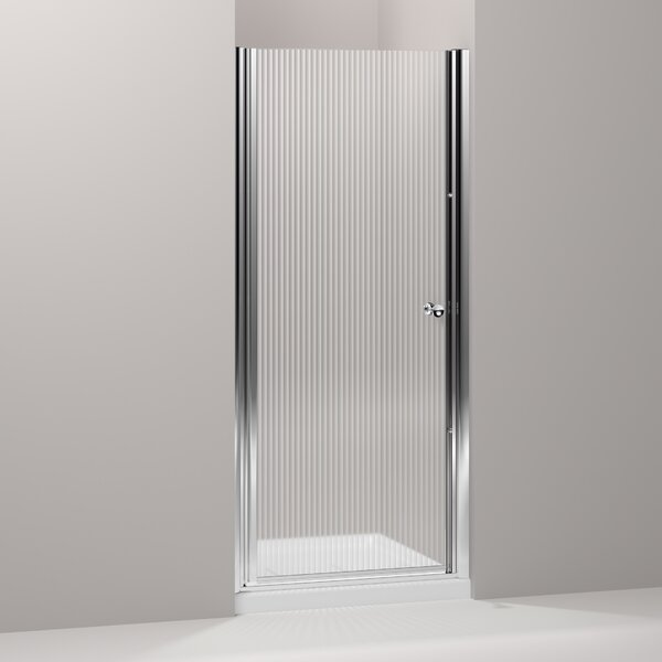 Fluence 31.5 x 65.5 Pivot Shower Door with CleanCoat® Technology by Kohler