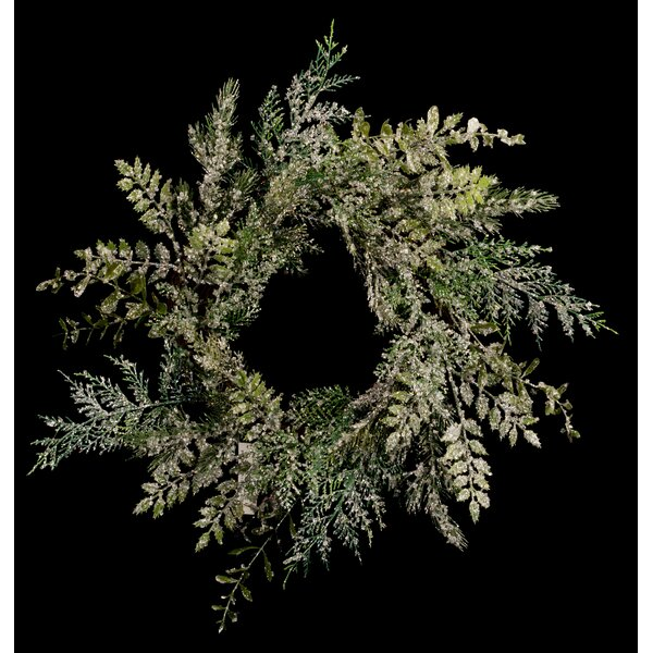 20 Mixed Foilage Wreath by The Holiday Aisle