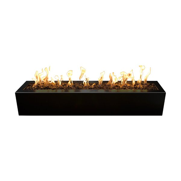 Eaves Steel Fire Pit by The Outdoor Plus
