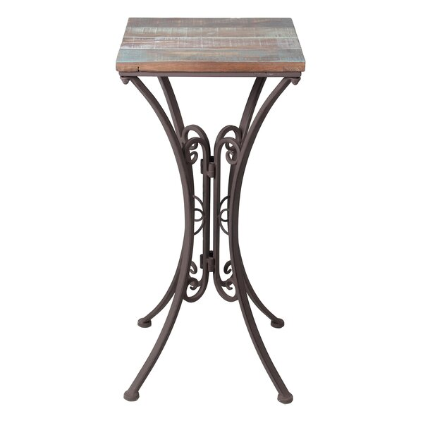 Wyatt End Table by August Grove