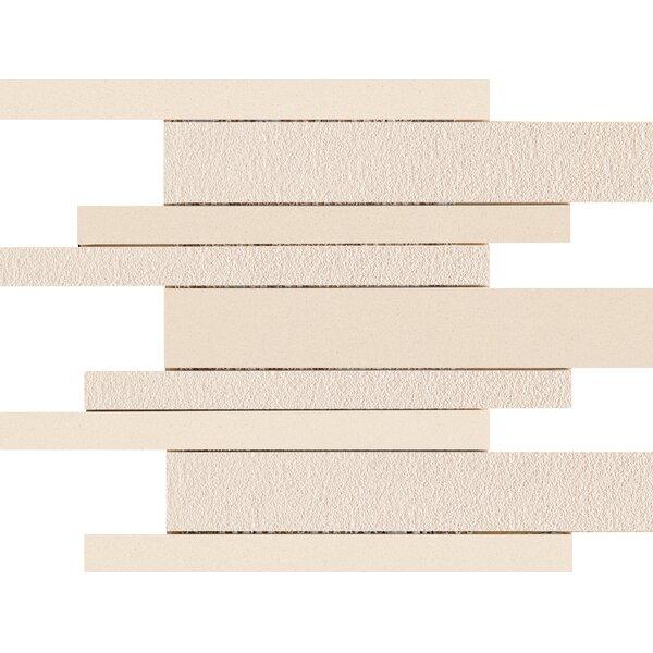 Direction Porcelain Linear Mosaic Tile in Coordinate by Emser Tile