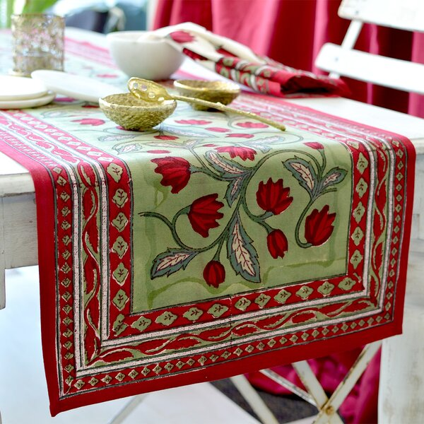 Crocus Table Runner by Couleur Nature