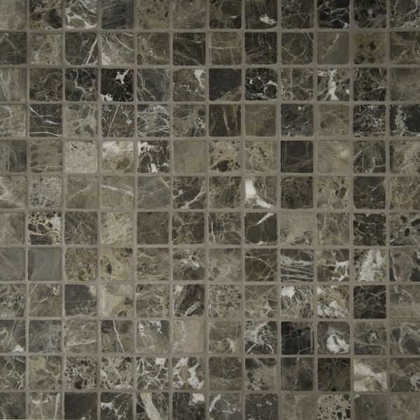 Emperador 2 x 2 Marble Mosaic Tile in Brown by MSI