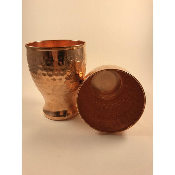 Polzin 18 oz. Copper Moscow Mule Mug (Set of 2) by Wrought Studio