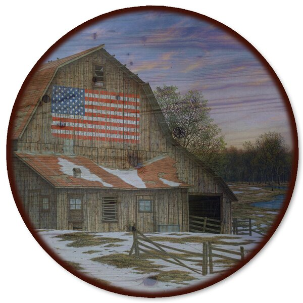 Enduring Legacy Barn Lazy Susan by WGI-GALLERY