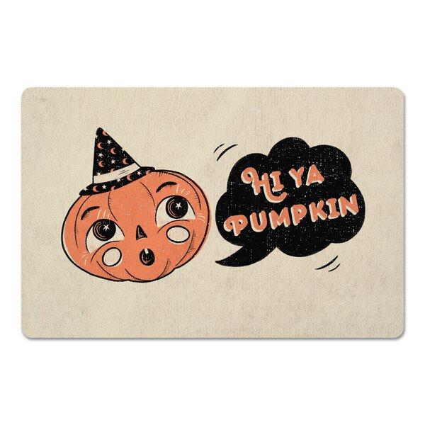 Dupoint Hi Ya Pumpkin Kitchen Mat