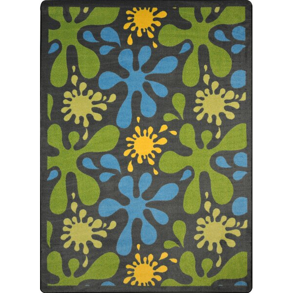 Green/Blue Area Rug by The Conestoga Trading Co.