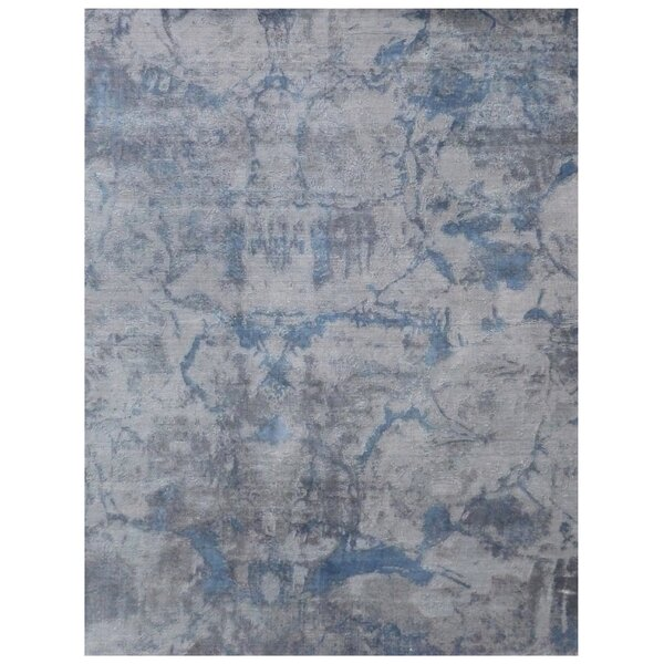 Reflections Hand-Woven Gray Area Rug by Exquisite Rugs
