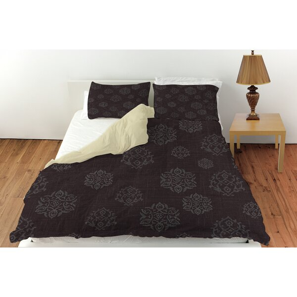 Flowing Medallion Duvet Cover Collection by Manual Woodworkers & Weavers