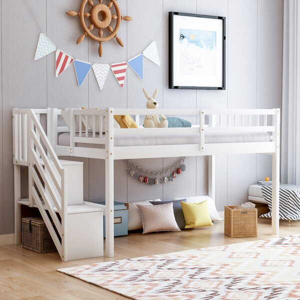 Amersham Twin Low Loft Bed by Isabelle & Max Isabelle & Max™