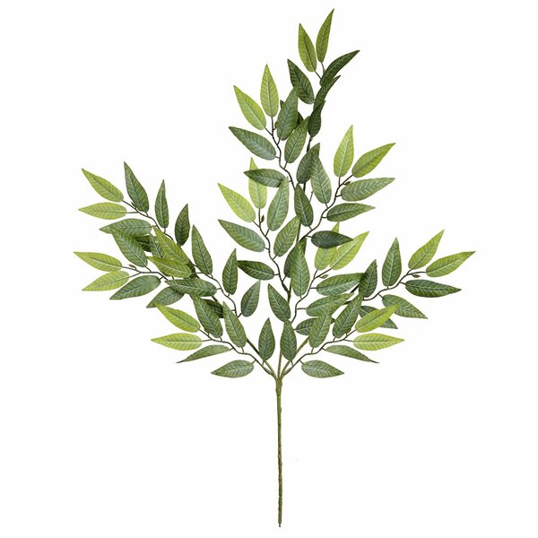 6 Piece Mini Leaves Spray Branch (Set of 6) by Gracie Oaks