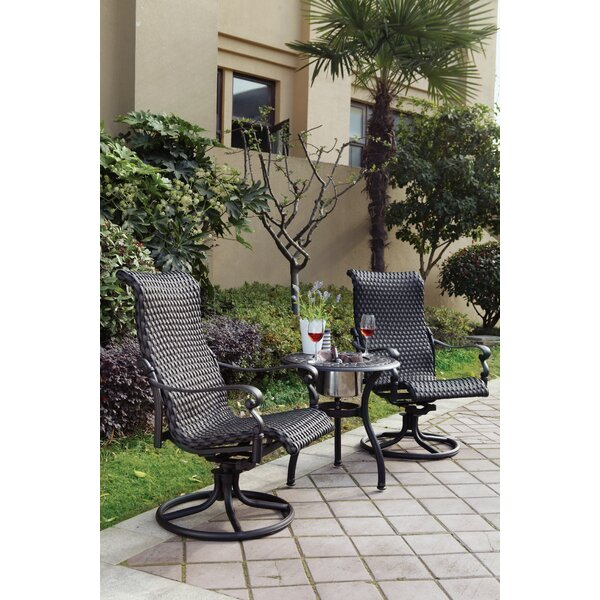 Kentland 3 Piece Bistro Set by Darby Home Co