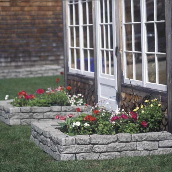 10 in. H x 4ft. W RockLock Edging by RTS Companies