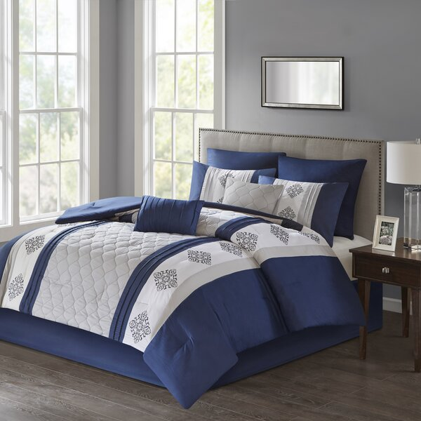 Forster 8 Piece Comforter Set by Red Barrel Studio