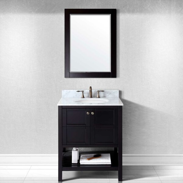 Knupp 30 Single Bathroom Vanity Set with Mirror by Zipcode Design