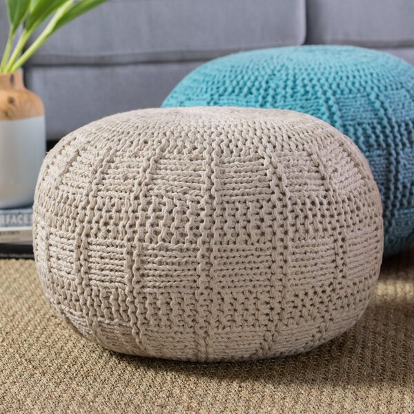 Adelaide Pouf by Mistana