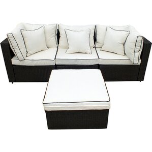 4piece hannah wicker patio seating group - Joss And Main Furniture