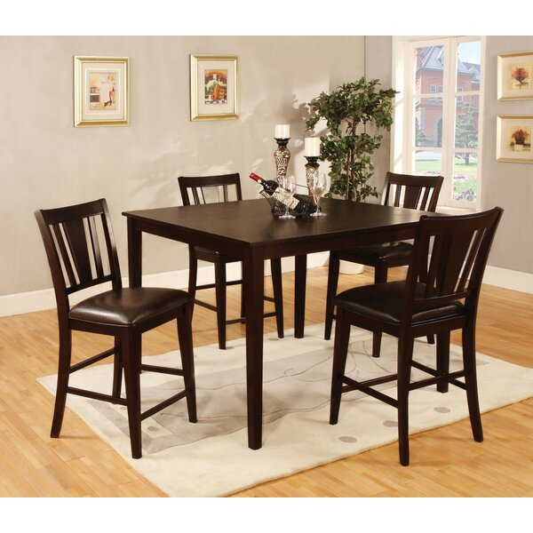 Voyles 5 Piece Pub Table Set by Red Barrel Studio