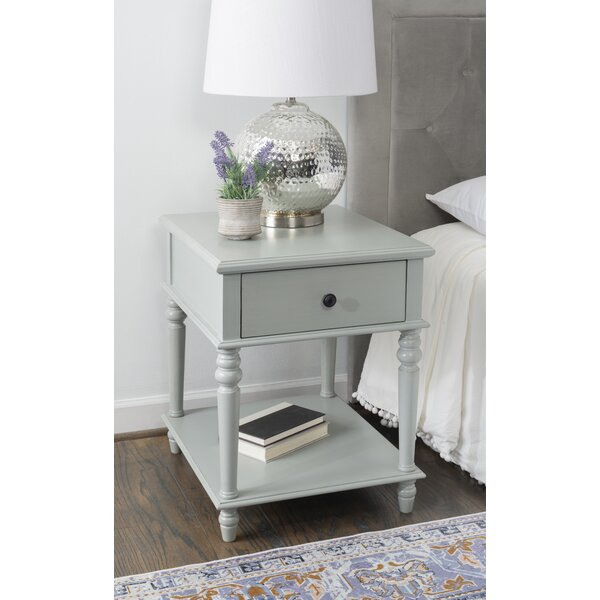 Nicks End Table With Storage By Canora Grey
