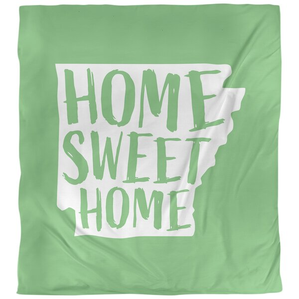 Home Sweet Arkansas Single Duvet Cover