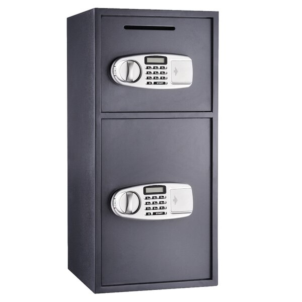 Suredrop Digital Deluxe Double Electronic Lock Depository Safe by Paragon Safe