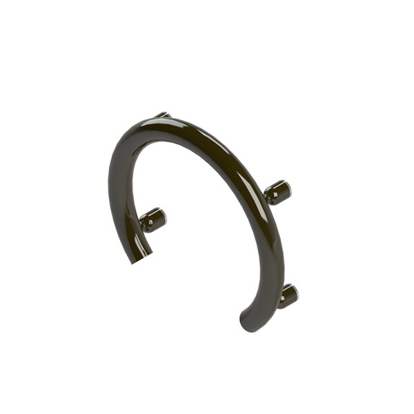 Accent Ring Support Rail Grab Bar by Invisia Collection