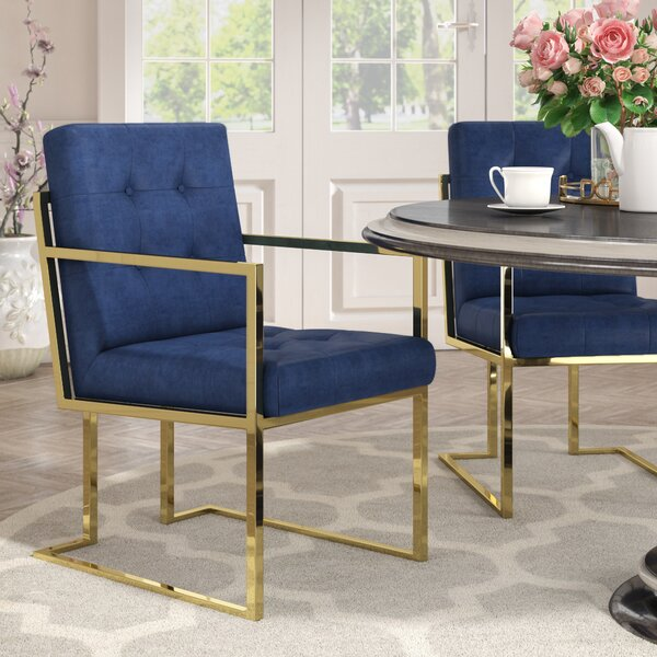 Bellamy Arm chair (Set of 2) by Everly Quinn