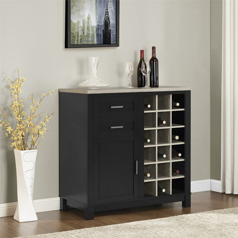 eclectic kitchen cabinets mercury row callowhill bar cabinet with wine storage 3519