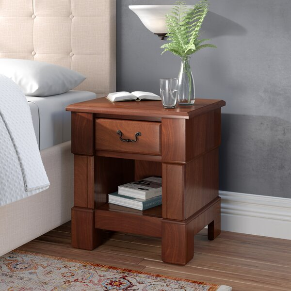 Cargile 1 Drawer Nightstand by Darby Home Co