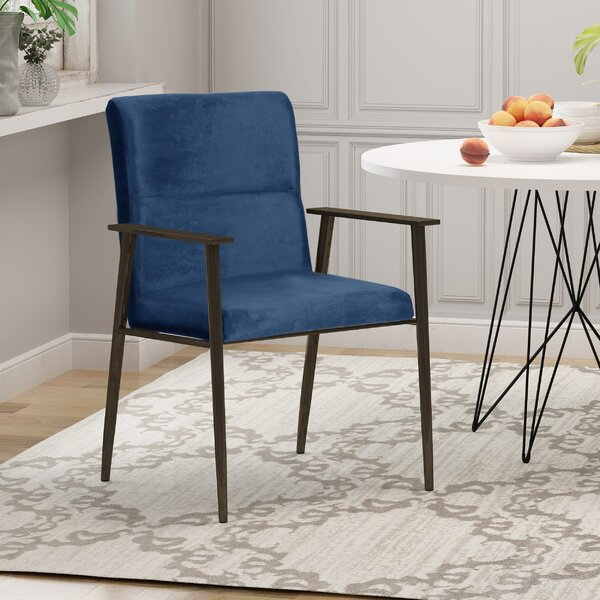 Batavia Upholstered Dining Chair by Wrought Studio