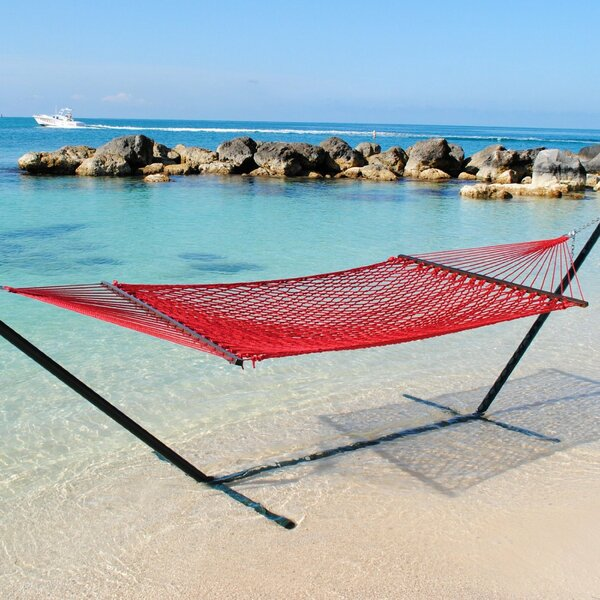 Lythrangomi Caribbean Tree Hammock by Beachcrest Home