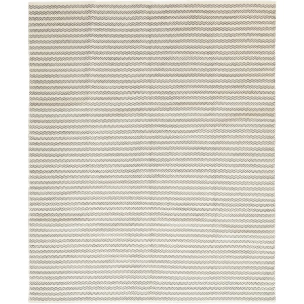 One-of-a-Kind Torrisi Hand-Knotted Wool Beige Indoor Area Rug by August Grove