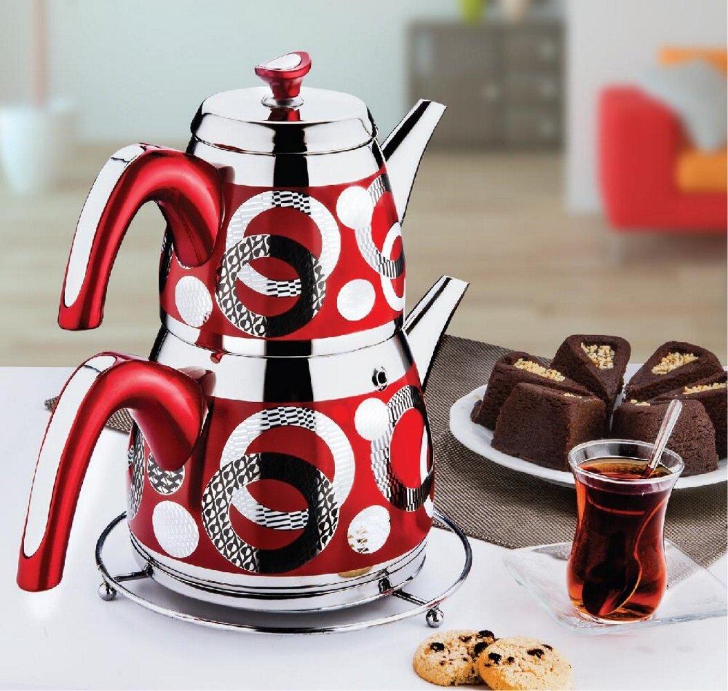 Latitude Run Everlyse 4 75 Oz Stovetop Safe Teapot Wayfair
