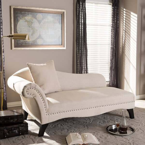 Rusnak Chaise Lounge by Willa Arlo Interiors