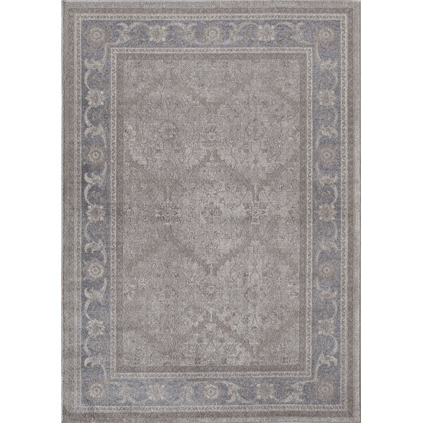 Estelle Gemma Gray/Ivory Area Rug by Rugs America