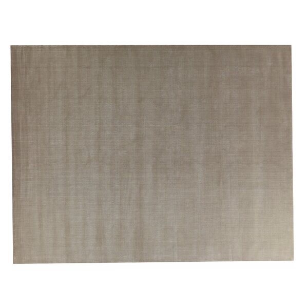 Gem Hand-Woven Brown Area Rug by Exquisite Rugs
