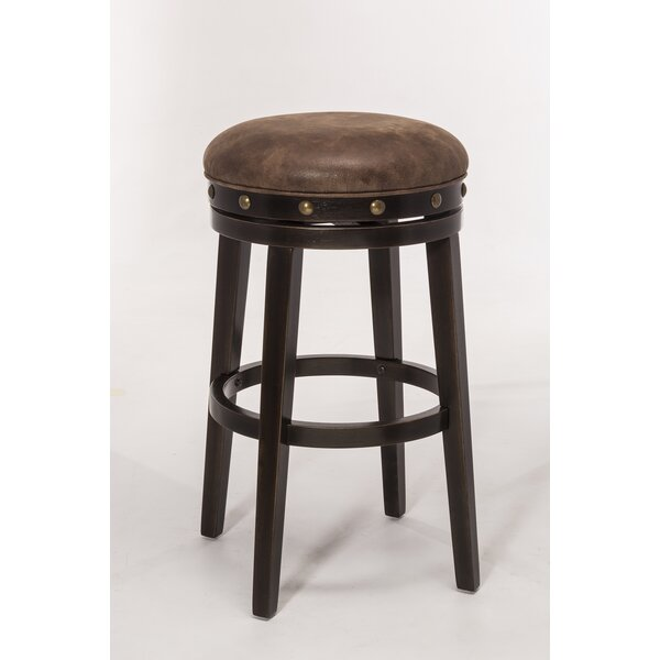 Duke 30.5 Swivel Bar Stool by Darby Home Co
