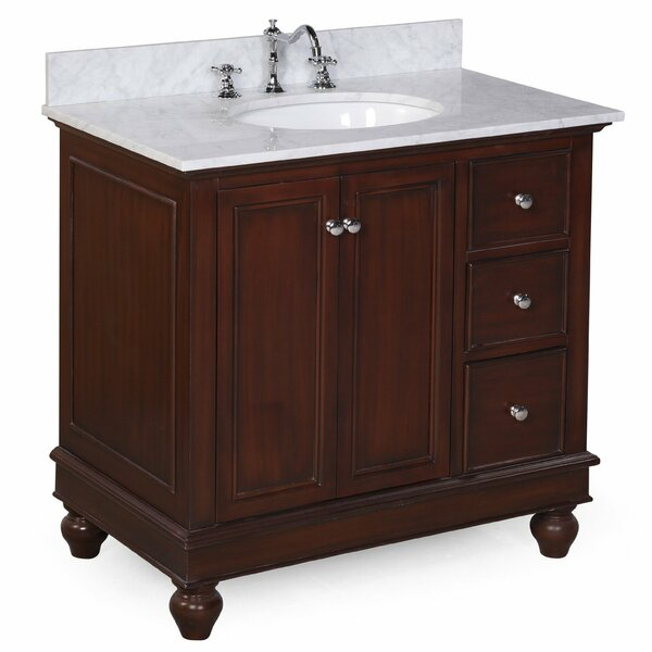 Bella 36 Single Bathroom Vanity Set by Kitchen Bat