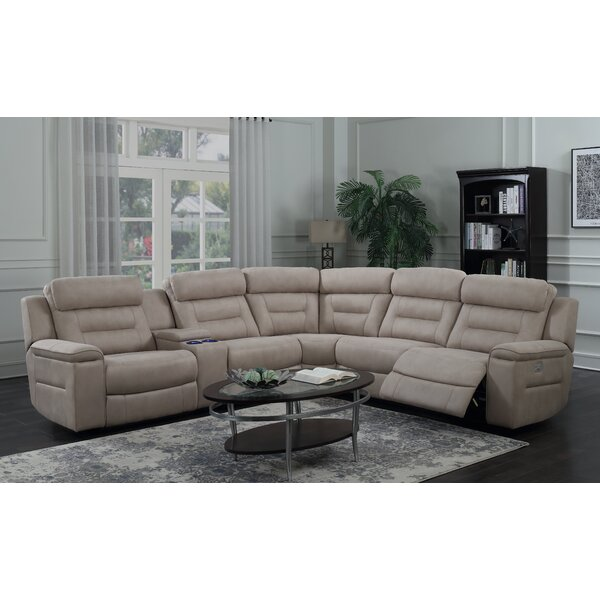 #2 Escobar Reclining Sectional By Darby Home Co