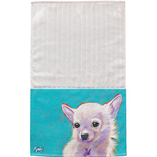 Chihuahua Multi Face Hand Towel (Set of 2) by East Urban Home