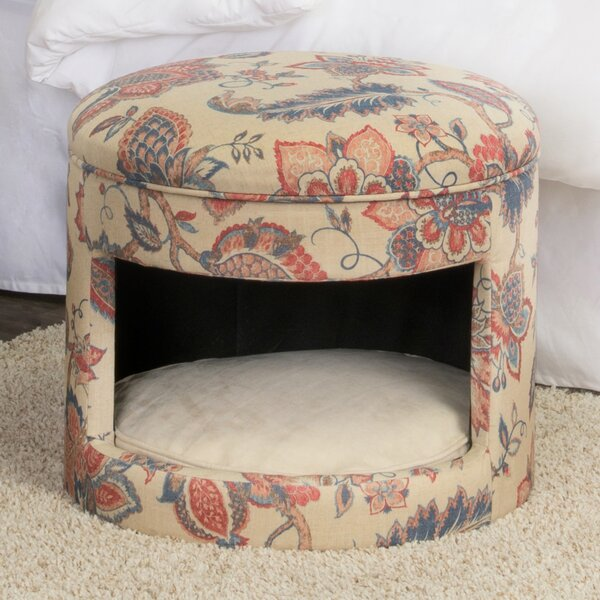Hope Decorative Hideaway Ottoman Cat Bed by Tucker Murphy Pet