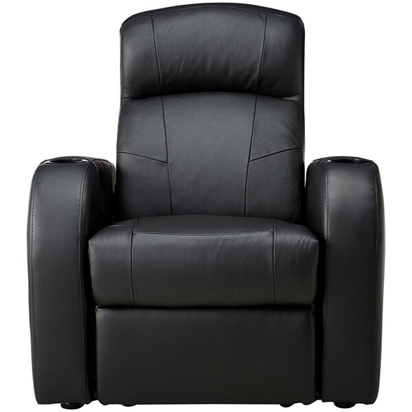 Plush Padded Home Theater Sofa By Winston Porter