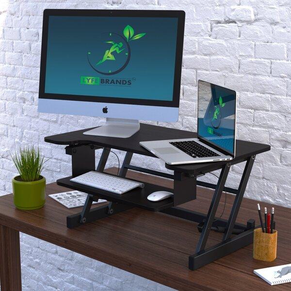Carla Standing Desk Converter by Symple Stuff