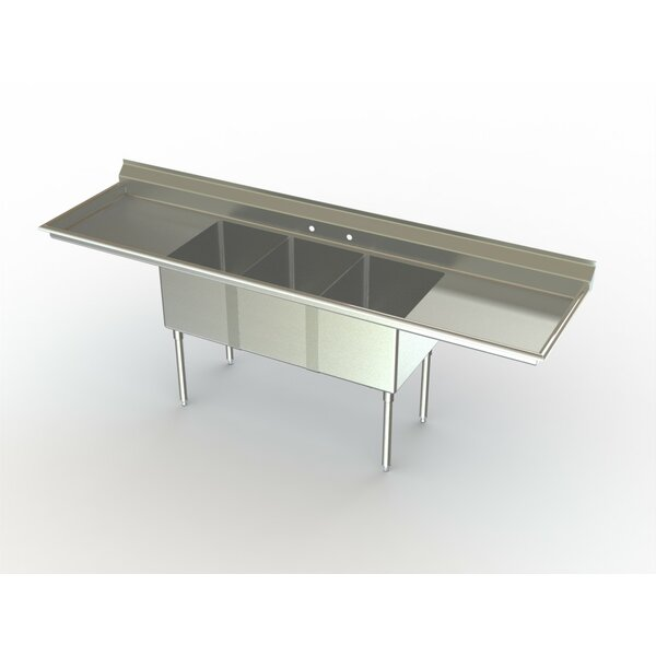Deluxe NSF 99 x 27 Free Standing Service Sink by Aero Manufacturing