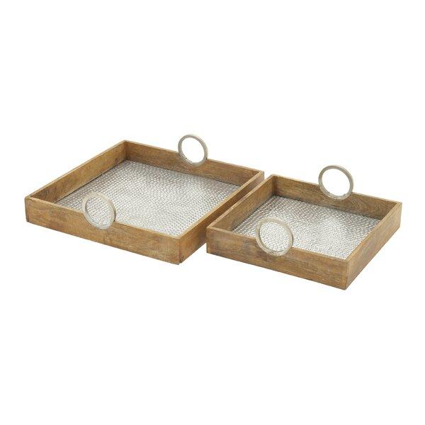 2 Piece Tray Set by Cole & Grey